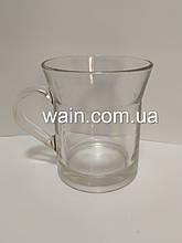 Стеклянная чашка 300 мл для чая, горячих напитков UniGlass Miami