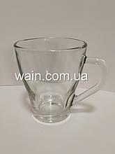 Стеклянная чашка 255 мл для чая, горячих напитков UniGlass Hollywood