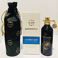 Мужская парфюмированная вода jeanmishel Love Blue Label pour Homme 90ml