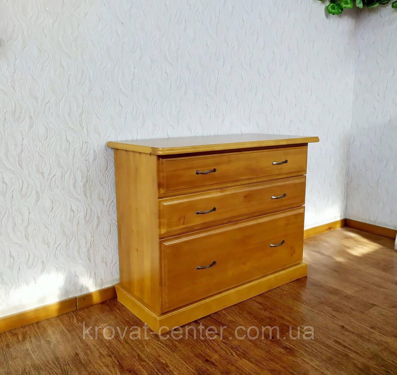 """Комод для спальни из массива натурального дерева от производителя """"Конго - 1"""""""