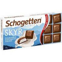 Молочний шоколад Schogetten SKYR зі скандинавським йогуртом ,100 г