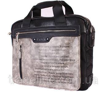 """Сумка для ноутбука 13,6"""" Dovhani N30822287 Серо-Черная"""