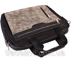 "Сумка для ноутбука 13,6"" Dovhani N30822287 Серо-Черная, фото 2"