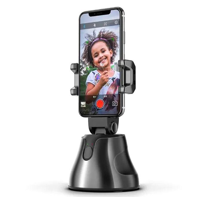 Умный Штатив для блогеров 360° с датчиком движения отслеживание лица или объектов AVG Smart Shooting Selfie S