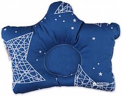 Подушка ортопедична 3+ тм Betis 30*40 (синій)