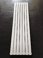 Радиатор дизайнерский вертикальный LIVORNO II 7/1600 Белый матовый 1600*476, фото 1