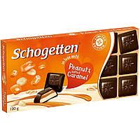 Шоколад Schogetten Peanut & Salted Caramel, 100 g