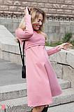 Платье для беременных и кормящих OLIVIA DR-30.042 пудра, фото 2