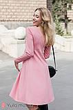 Платье для беременных и кормящих OLIVIA DR-30.042 пудра, фото 4