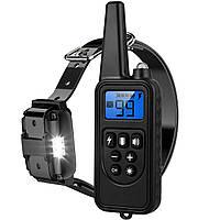 Электроошейник для дрессировки собак 800м - электро ошейник для собак - электронный ошейник с шокером