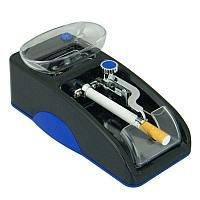 Электрическая машинка для набивки сигарет Gerui GR-12-005 Slim диаметром 6,5 мм Синяя
