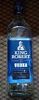 Шотландская водка тройной дистилляции Кинг Роберт 1л 43%