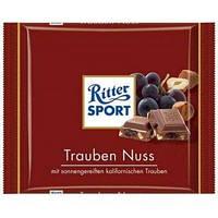 Молочный Шоколад Ritter Sport Trauben Nuss, 100 г