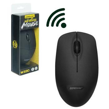 Миша бездротова ZORNWEE W330 Чорна
