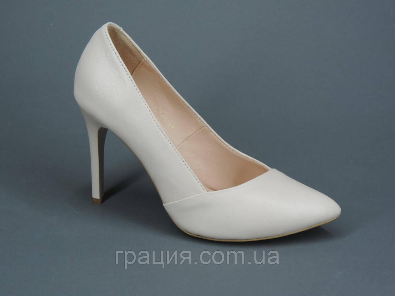 Элегантные классические женские туфли из натуральной кожи туфли на шпильке