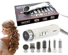 Фен Стайлер для укладки волос 8 в 1 Gemei GM 4832 для всех типов волос Воздушный стайлер для волос, фото 3