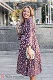 Платье в горошек для беременных и кормящих KATOLINA DR-30.112, фото 2