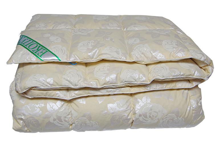 Натуральное Пуховое Одеяло ЭкоПух Гусиный Пух 200x220 Евро