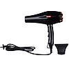 Профессиональный фен Gemei GM 1769, мощность 1800W, 2 скорости, 3 режима нагрева, фен бытовой, фото 4