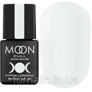 Гель-лак MOON FULL color Gel polish №101 (белый, эмаль), 8 мл