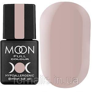 Гель-лак MOON FULL color Gel polish №103 (темно-бежевый, эмаль), 8 мл