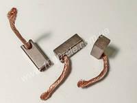 Уголек электровентилятора радиатора (7х8х20) провод сбоку /
