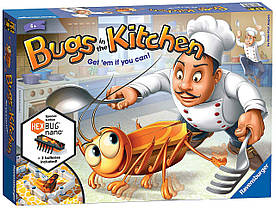 Настольная игра Кукарача Жуки на кухне Bugs in the Kitchen - Children's Board Game