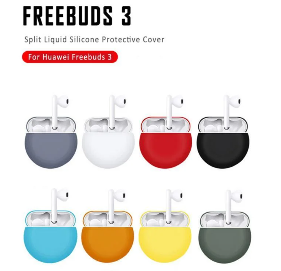 Чохол на кейс для Huawei FreeBuds 3 / Soft-touch /