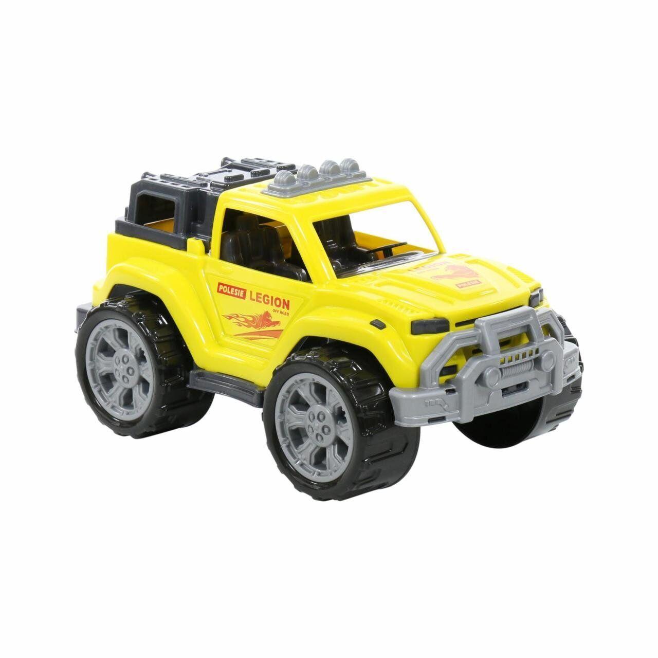 """Автомобиль """"Легион"""" №3 жёлтый, Polesie (76038)"""