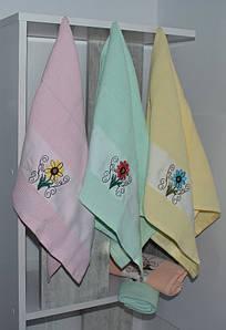 Набор кухонных полотенец Цветок 2 (6 шт)