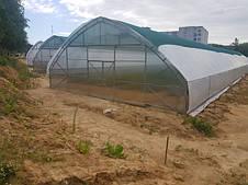 """Фермерські теплиці під плівку """"ФЕРМЕР ПРОФІ - У"""" шириною 10м"""