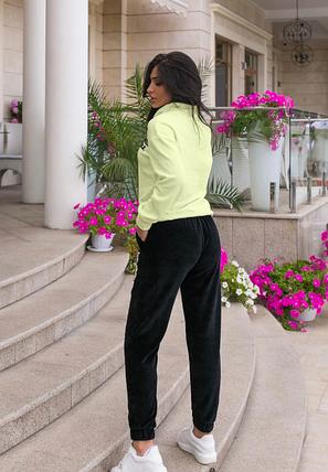 Велюровый спортивный костюм Minova Размеры: 44.46.48.50.52.54., фото 2