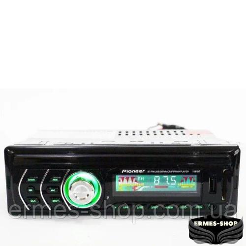 Автомагнитола 1DIN MP3 1581 Bluetooth RGB/ Bluetooth