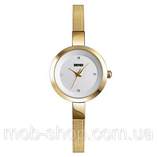 Наручные часы Skmei 1390 Gold-White оригинал
