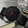 Кварцевые часы CRRJU (black-red), фото 4