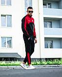 Мужской спортивный костюм Puma BMW Motorsport 21590 красно-черный, фото 4