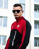 Мужской спортивный костюм Puma BMW Motorsport 21590 красно-черный, фото 7