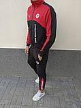 Мужской спортивный костюм Puma BMW Motorsport 21590 красно-черный, фото 3