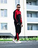 Мужской спортивный костюм Puma BMW Motorsport 21590 красно-черный, фото 5