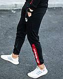 Мужской спортивный костюм Puma BMW Motorsport 21590 красно-черный, фото 10