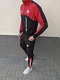Мужской спортивный костюм Puma BMW Motorsport 21590 красно-черный, фото 2