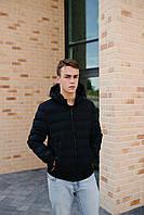 Мужская демисезонная куртка синяя 20-2