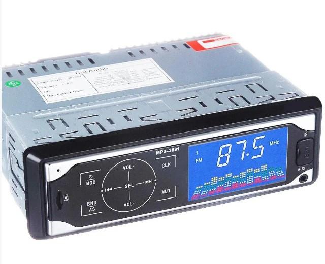Автомагнитола MP3 3881 ISO 1DIN с сенсорным дисплеем