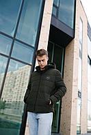 Чоловіча демісезонна куртка хакі 20-06, фото 1