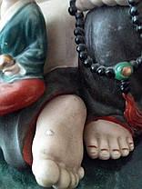 Смеющийся Будда с детьми, Хотэй, 1 пол.ХХ-го века, фото 3