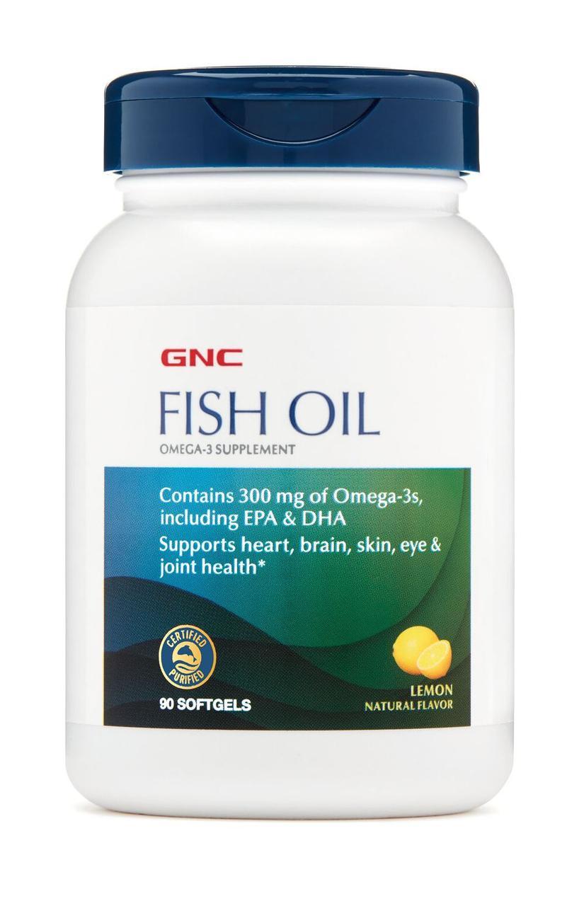 GNC Fish Oil 1000 90 softgels caps