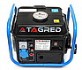 Бензиновый генератор TAGRED 1550W 2,1KM, фото 7