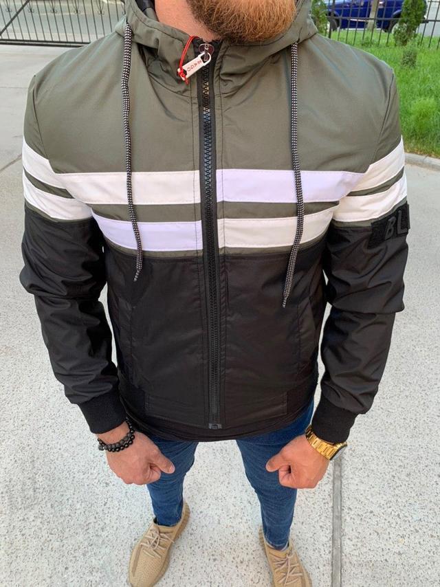 Мужская куртка ветровка Zago Black