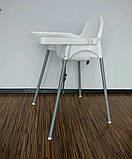 Стілець для годування зі стільницею IKEA ANTILOP 290.672.93, фото 10
