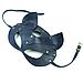 Премиум маска кошечки LOVECRAFT, натуральная кожа, зеленая, подарочная упаковка, фото 2